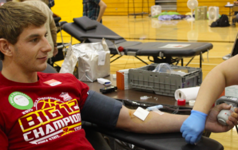 NHS Blood Drive Exceeds Last Spring's Donations