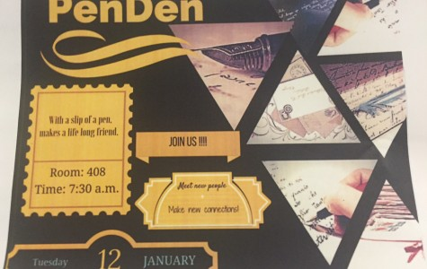 Pen-pal Club to Start Jan. 12