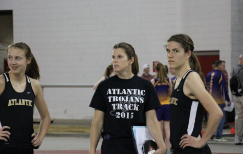 Trojan Girls Open Track Season at Central College