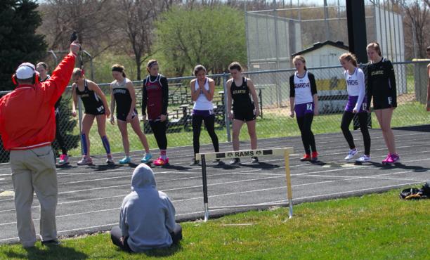 Trojan Girls Track Compete at Glenwood