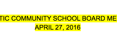 School Board: New Coach, Iowa Assessments, ELL and Homeschooling