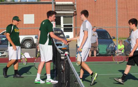 Boy's Tennis Defeats the St. Albert Falcons