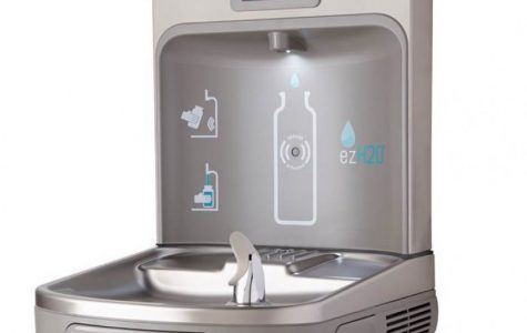 New Bottle Filling Water Fountain for AHS
