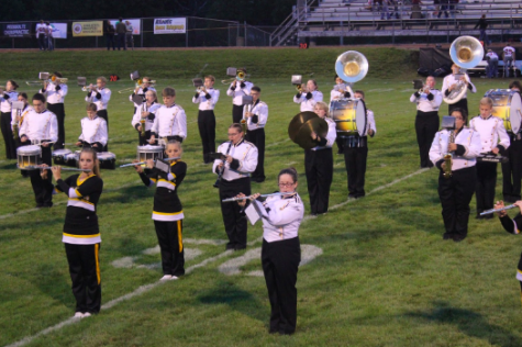 Homecoming Marching Band Show