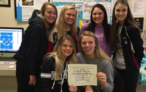 Javelin Earns Award of Distinguished Merit in Yearbook Contest