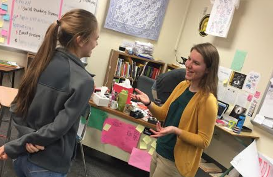 English teacher Rachelle Lipp is a newly added teacher at AHS. She said she had a job at Dairy Queen when she was in high school. Lipp said that by having a job in high school it helped her to interact with people and thinking on her feet.