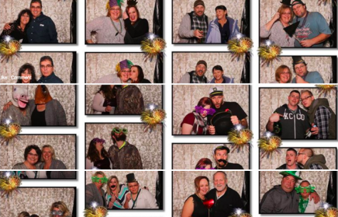 New Photo Booth Featured at Winter Formal