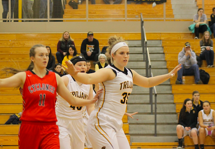 Trojans Lose a Tough One in Harlan