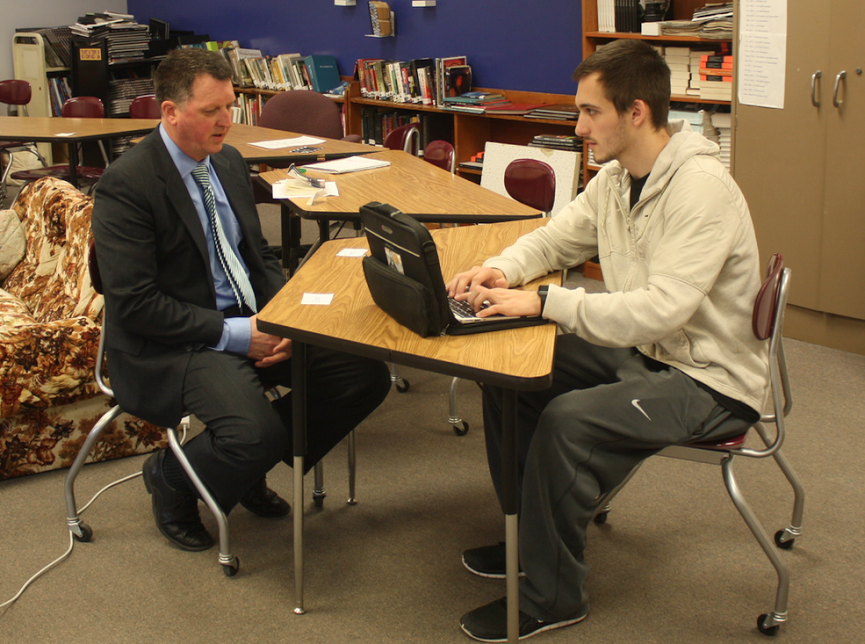 ASCD+Superintendent+sits+in+room+408+during+an+interview+with+editor+Zeke+Whetstone+on+Wednesday%2C+March+15.+