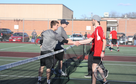 Boys' and Girls' Tennis Takes on the Panthers