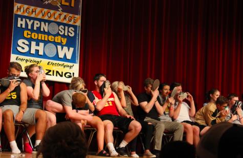 Hypnotism at AHS Prom