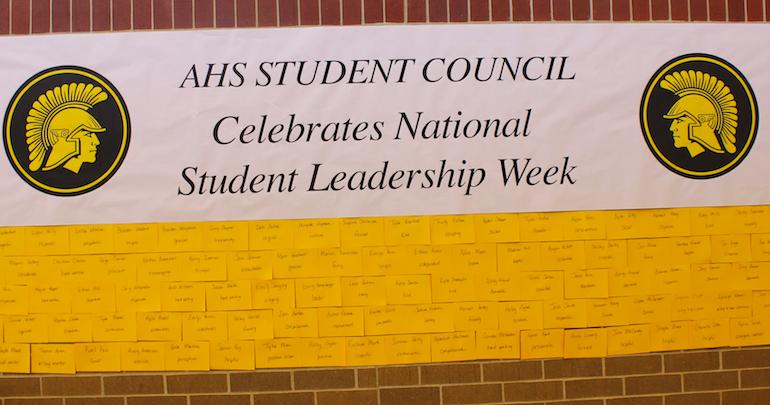 AHS Celebrates Leadership Week