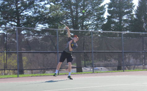 Trojan Tennis vs. the Cyclones