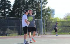 Trojan Tennis vs. LC