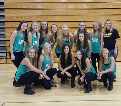 AHS Dance Team Fundraises for Trip to State Competition