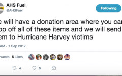 AHS Fuel Requests Hurricane Harvey Donations