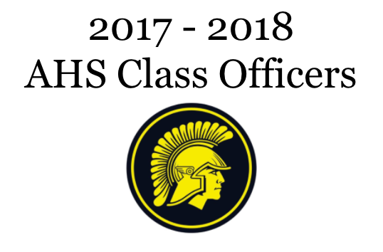 Junior Class Officers include Hannah Alff, Halsey Bailey, Sadie Welter, and Ashley Wendt. Senior Class Officers are Emily Saeugling, Chloe Newbury, Alexis Handel, and Luke Hohenberger.