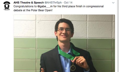 AHS Speech and Debate Team Starts Competitions