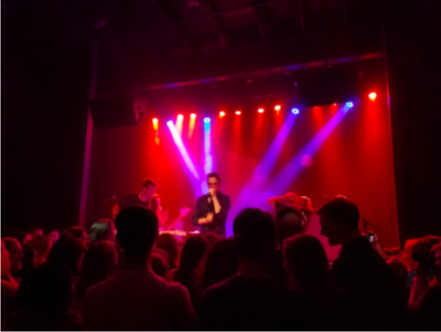 WAY WITH WORDS- The Wrecks perform on stage. The Wrecks have been on tour since October and will play their last show in December.