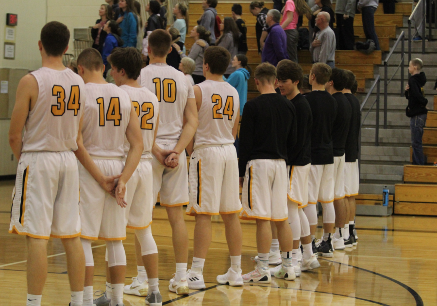 Trojans Fall To Knights With Badding's 24 First Half Points