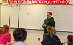 NEWS BRIEF – Soldier Speaks to Hinzmann's Classes