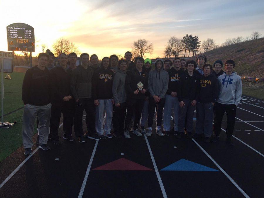 Trojan Boys' Track Wins Tiger/Knight Co-Ed Meet