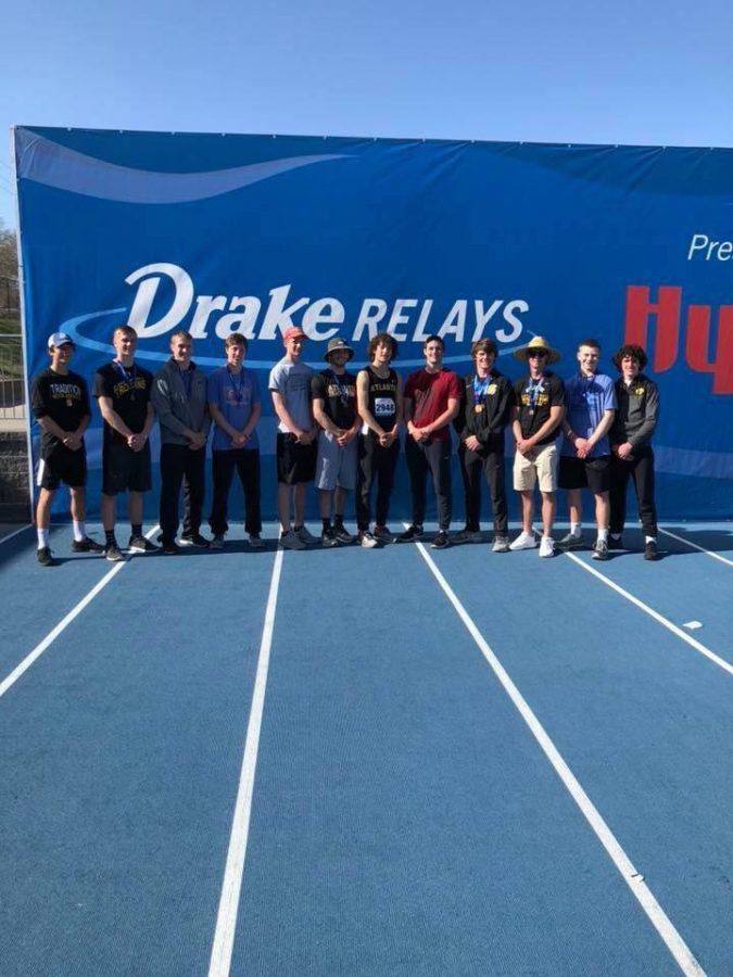 Trojan Track Competes at Drake Relays