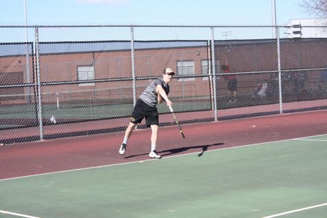 Boys' Tennis Competes in First Dual at Creston