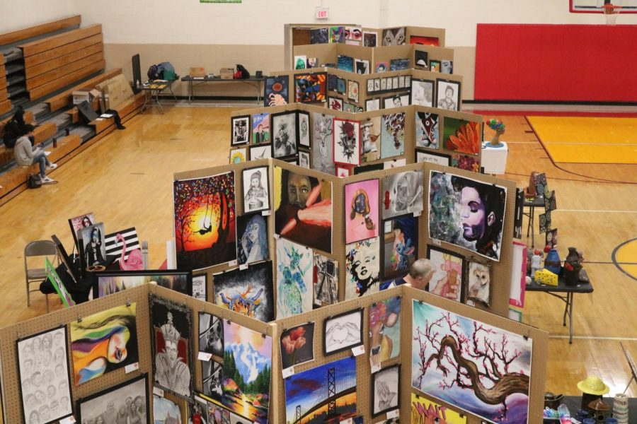 Hawkeye 10 Conference Art Show