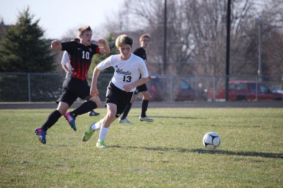 Boys' Soccer Falls to Harlan