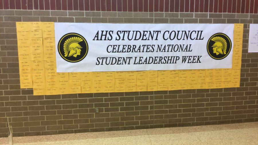 NEWS BRIEF - International Student Leadership Week Celebrates AHS Students