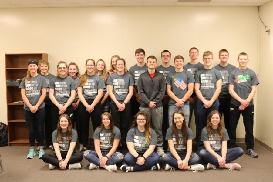 2017-18 Student Council members