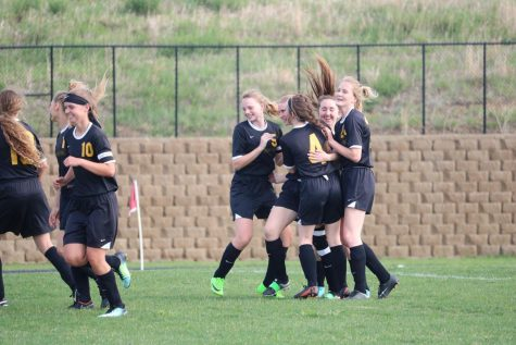 Girls' Soccer Falls to Tri-Center Trojans