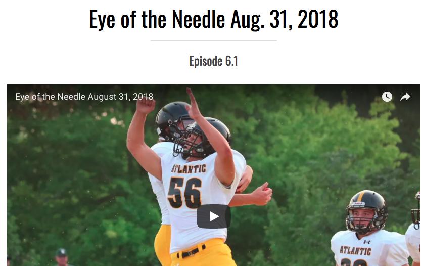 Eye of the Needle Aug. 31, 2018