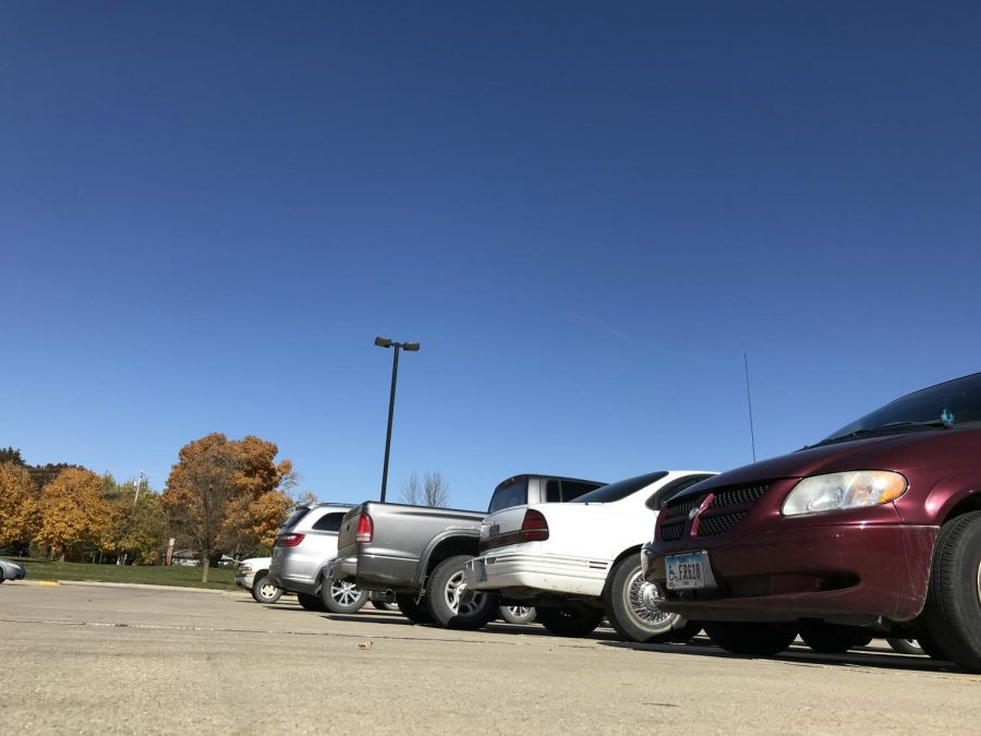 The AHS parking lot will soon be filled with color.