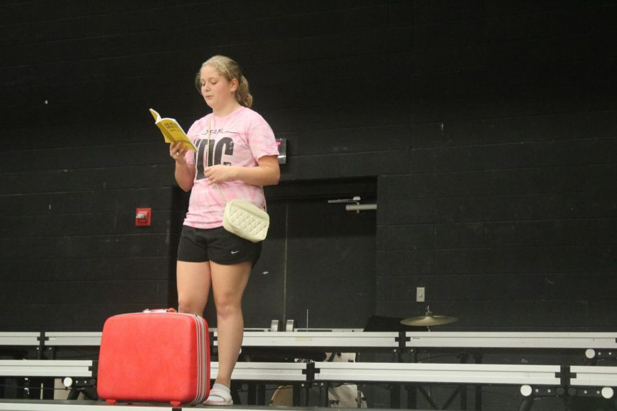 Five Weeks Until Show -- AHS Prepares For Fall Play