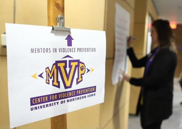 Picture from the UNI Center for Violence Prevention website, used with permission.