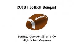 NEWS BRIEF — Seniors Prepare to Celebrate 2018 Football Banquet