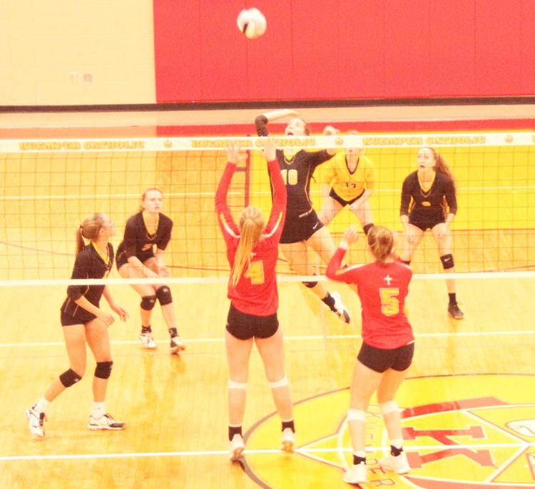 Atlantic+prepares+to+return+the+ball+in+their+last+match+against+Kuemper+Catholic.