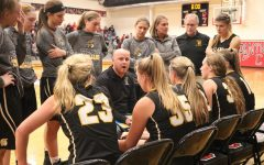 Panthers Top Trojans in Girls' Hoops