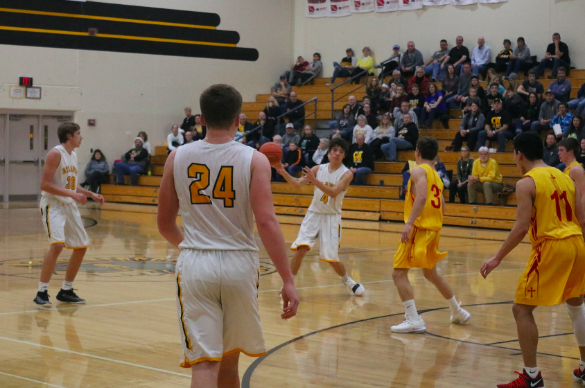 Trojans Fall to the Knights
