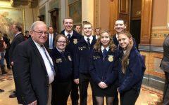 FFA Members Attend Legislative Symposium