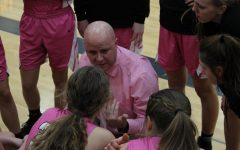 Trojan Basketball Pinks Out Panthers on Senior Night