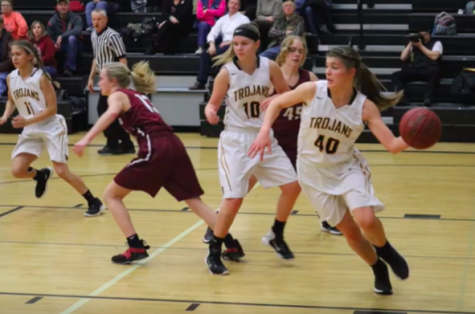 Atlantic Girls Fall to Harlan at Home