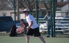 One Win, One Loss for Trojan Boys' Tennis