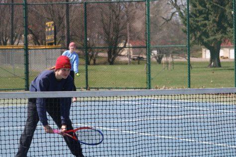 Tennis Girls Earn Two Dual Wins