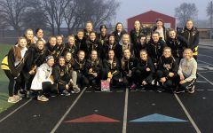 Girls' Track Wins Lady Panther Relays