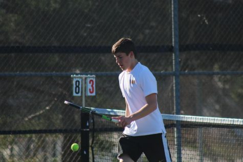 Atlantic Finishes Runner Up at Conference Tennis Meet