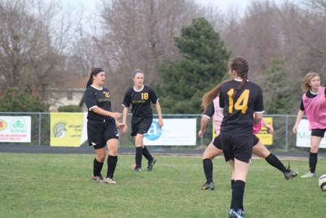 Girls' Win First Soccer Game of the Season