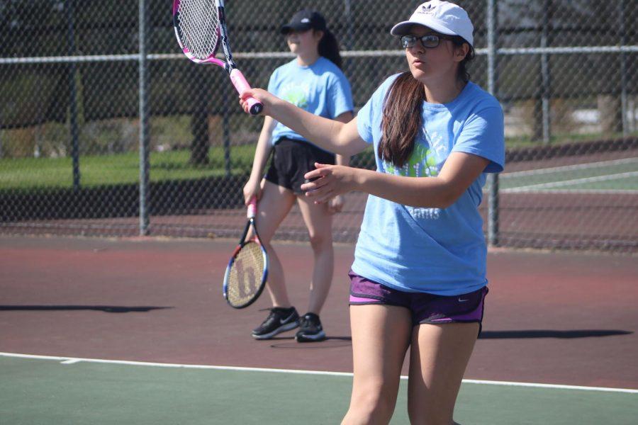 Atlantic Girls Hang Up Rackets